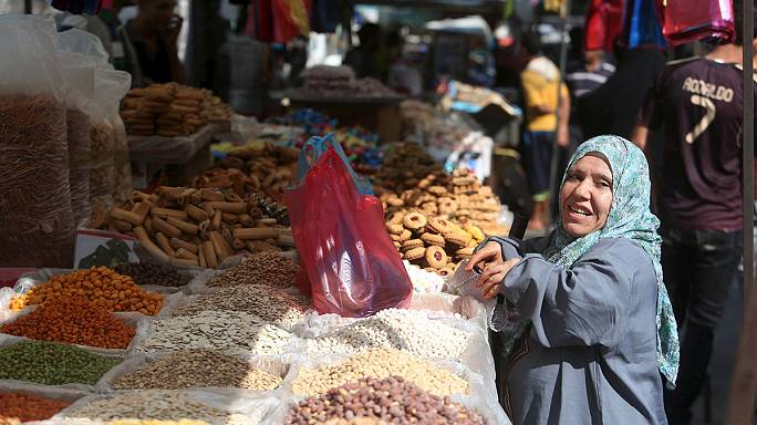 Filistin'de hüzünlü Ramazan Bayramı sevinci