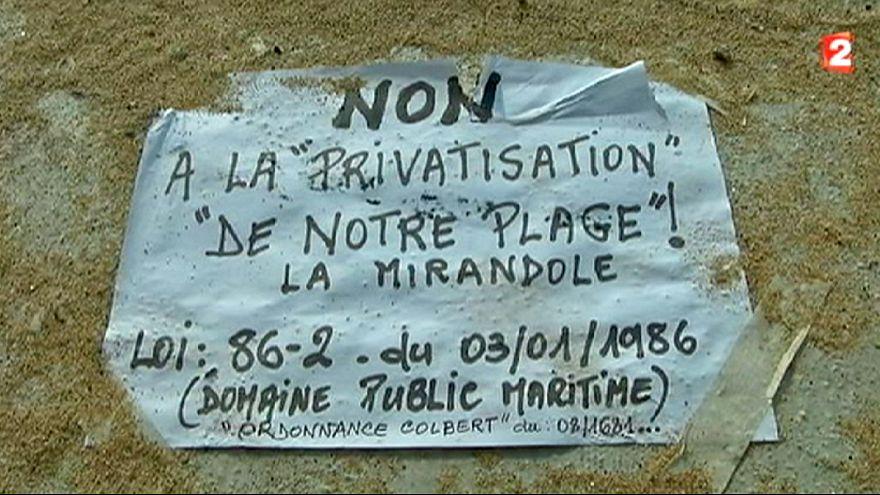Франция: саудовский король перекроет жителям Валлориса доступ на пляж