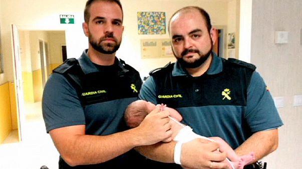 Un bébé retrouvé dans une poubelle en Espagne