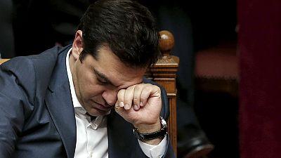 Grecia pendiente de la remodelación del Gobierno tras el revés a Tsipras en el Parlamento