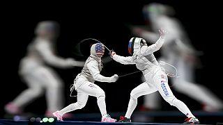 Mundial de Esgrima: Inna Deriglazova e Yuki Ota conquistam medalha de ouro