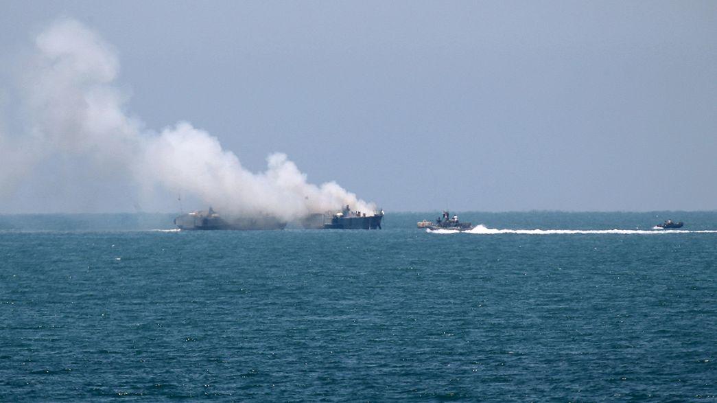 El Estado Islámico reivindica el lanzamiento de un mísil contra una embarcación militar egipcia