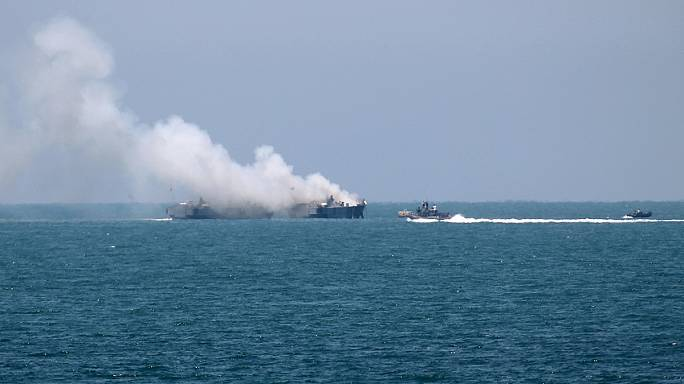 ISIL says it launched missile attack on Egypt navy ship