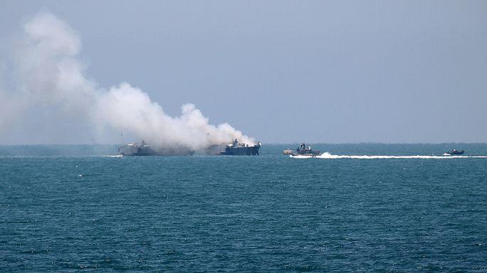 Египет: катер ВМС атаковали боевики ИГ
