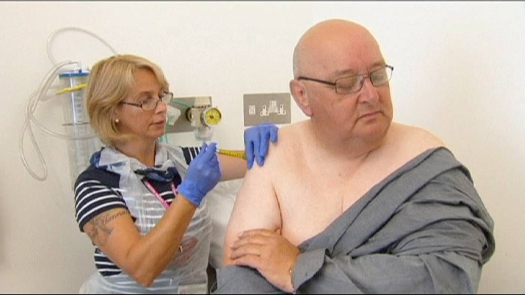 Ebola vaccine trials enter Phase II