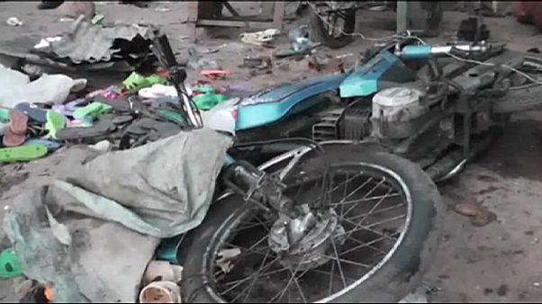 دهها کشته و زخمی بر اثر دو انفجار مهیب در نیجریه