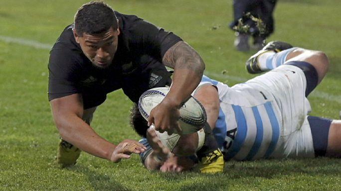 Les All Blacks implacables face à l'Argentine