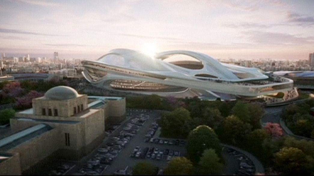 Japonya'nın Ulusal Stadyum'u yüksek maliyeti sebebiyle yeniden tasarlanacak