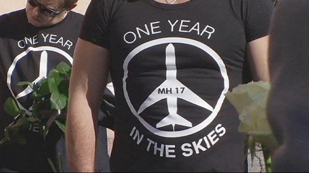 Egy évvel a lelőtt gép tragédiája után még mindig sok a homályos részlet