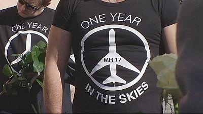 Gedenken an MH17-Abschuss: Poroschenko bekräftigt Schuldvorwurf gegen Separatisten und Russland