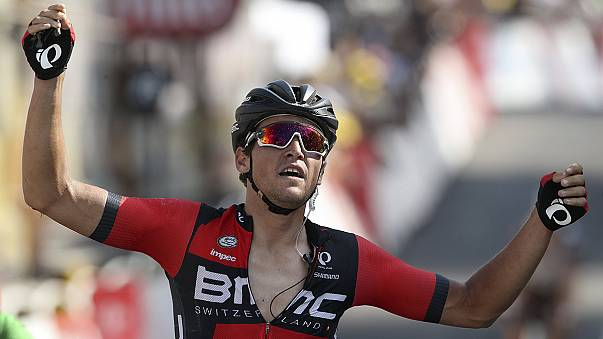 Tour de France: Van Avermaet wins Stage 13