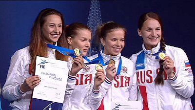 Säbel-Quartett holt WM-Bronze in Moskau