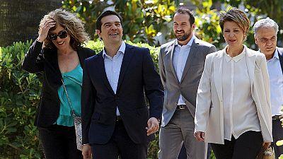 Le nouveau gouvernement grec en place