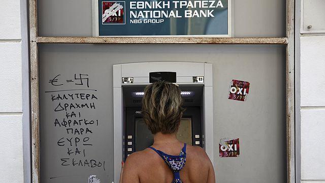 Yunanistan'da bankalar yeniden açılıyor