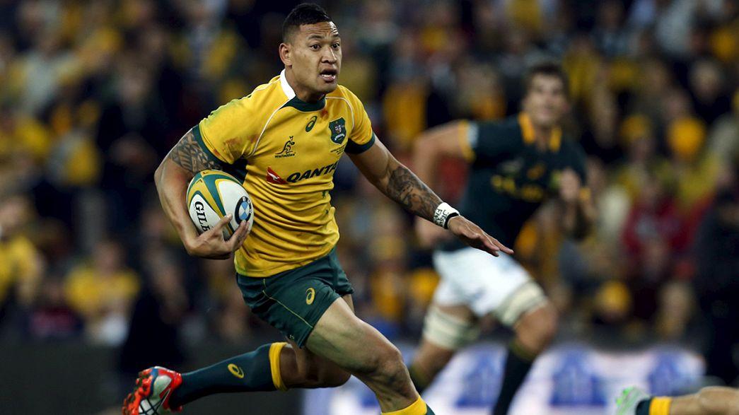 Rugby Championship: Australia rimonta Sudafrica
