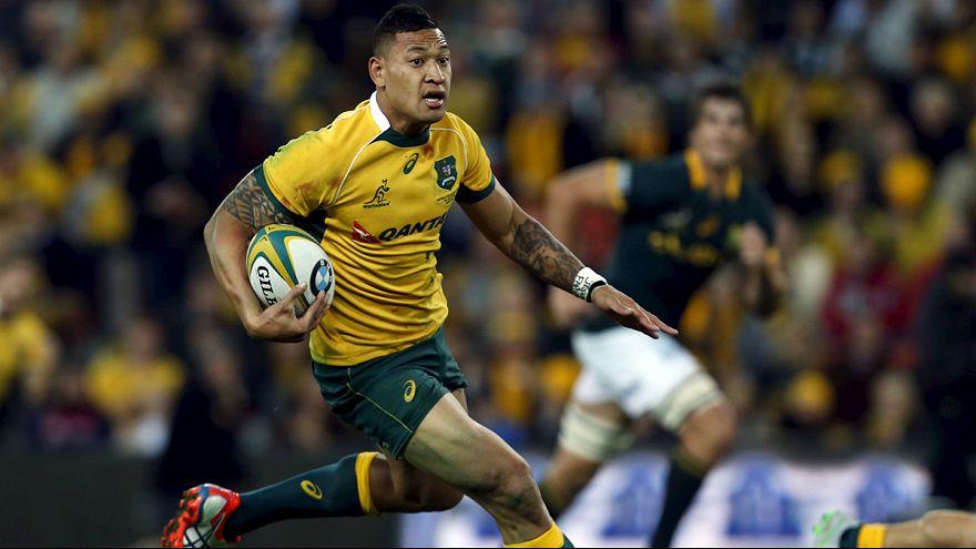 Triunfo agónico de Australia ante Sudáfrica en el Rugby Championship