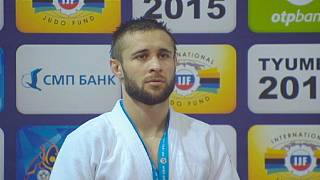 Tyumen Judo Grand Slam Turnuvası Sibirya'da start aldı
