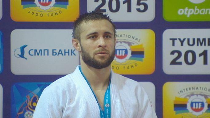 La española Julia Figueroa gana el oro en la final de judo de -48 kg