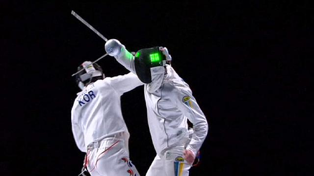 Ukraine win gold at World Fencing Championships
