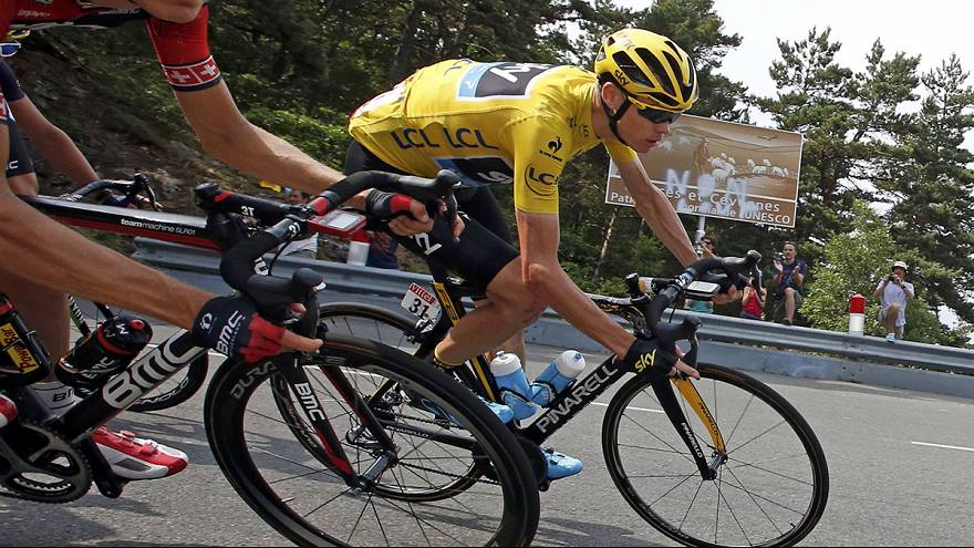 Tour de France: Urin-Attacke auf Spitzenreiter Chris Froome