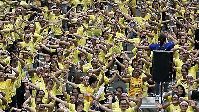 Filipinas quebram recorde mundial de zumba