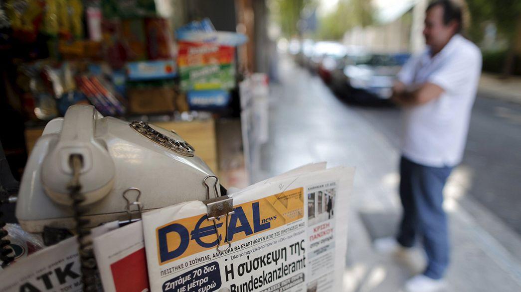 """Grèce : """"non"""" à l'ouverture des magasins le dimanche"""
