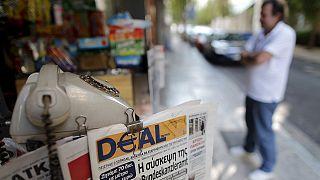Protestas en Atenas contra el permiso de apertura de las tiendas el domingo