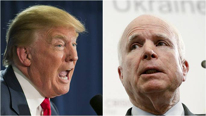 A mexikóiak után McCainnak ment neki Donald Trump