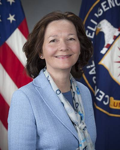 Gina Haspel in Langley, Virginia on March 21, 2017.