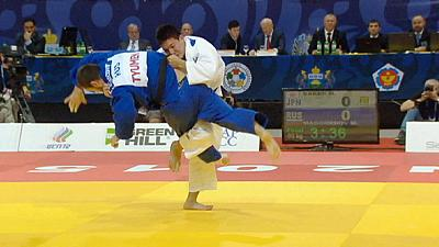 Gold for local judoka at International Judo Grand Slam in Siberia