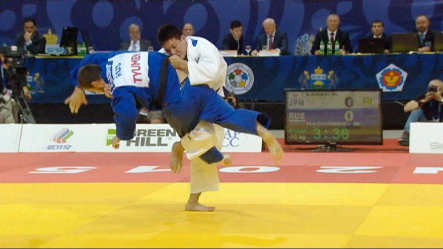 Rusya'da düzenlenen Tyumen Judo Grand Slam'i sona erdi