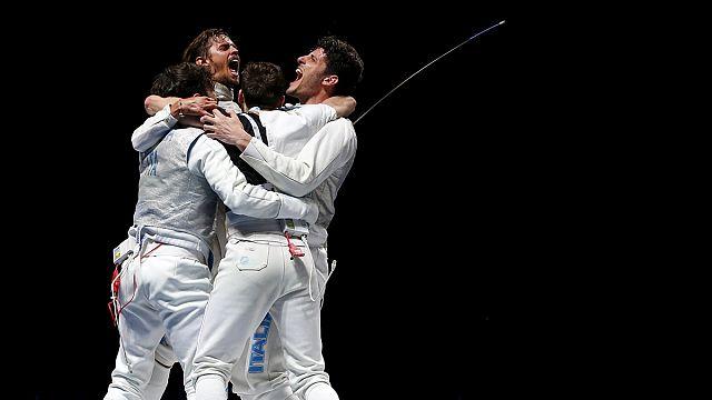 İtalyanlar Dünya Eskrim Şampiyonası'nda çifte zafere imza attı