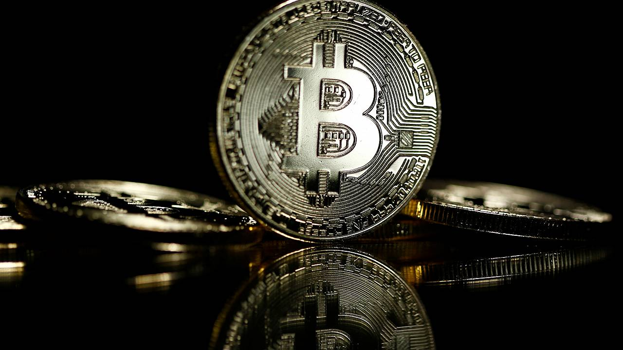 Image: Bitcoins are seen in this illustration picture