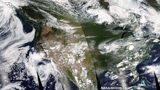 Súlyos áradások az Egyesült Államok keleti és nyugati partvidékén
