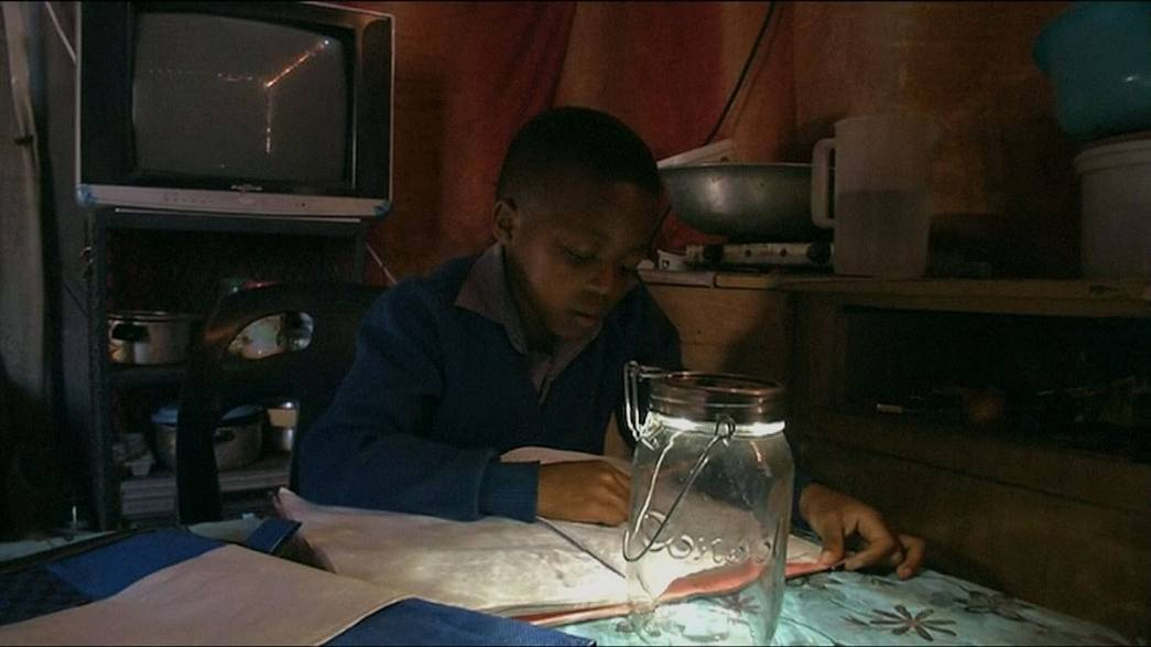 Solar-powered schoolbag life-changer for South African pupils