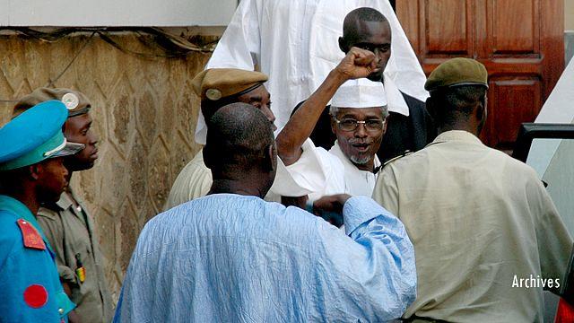 Çad'ın devrik diktatörü Habre Senagal'de hakim karşısında