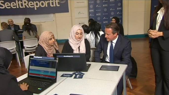 David Cameron part en guerre contre l'extrémisme