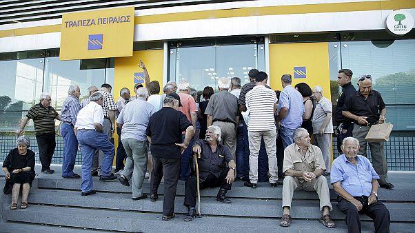 Grécia reabre bancos sem pôr fim a controlos de capital