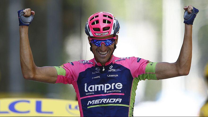 Rubén Plaza logra su primera victoria en el Tour