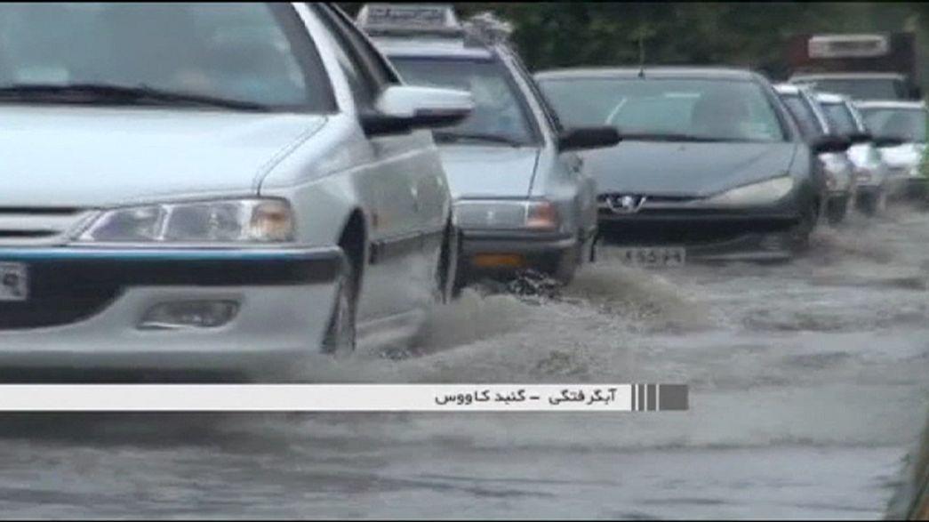 Chuvas torrenciais fustigam Irão