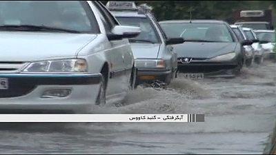 Intempéries en série en Iran