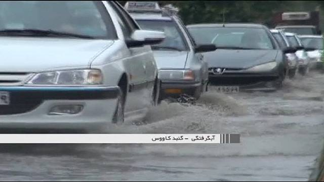 مصرع ثمانية أشخاص في عواصف رعدية رملية في إيران