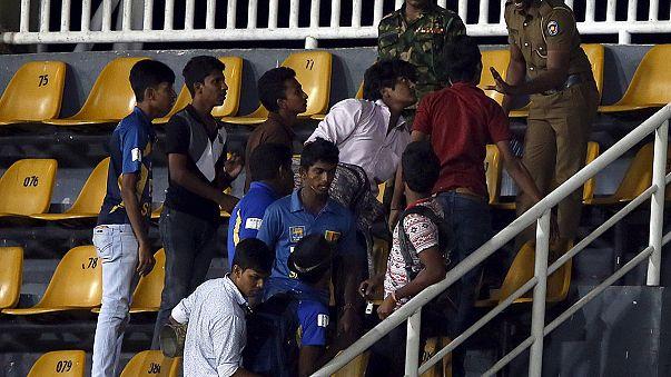 Ausschreitungen beim Kricket-Länderspiel zwischen Sri Lanka und Pakistan