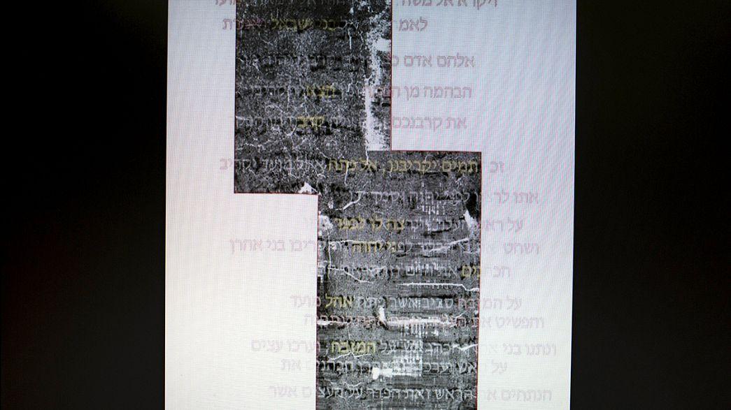 Isreale: decodificata la più antica pergamena biblica