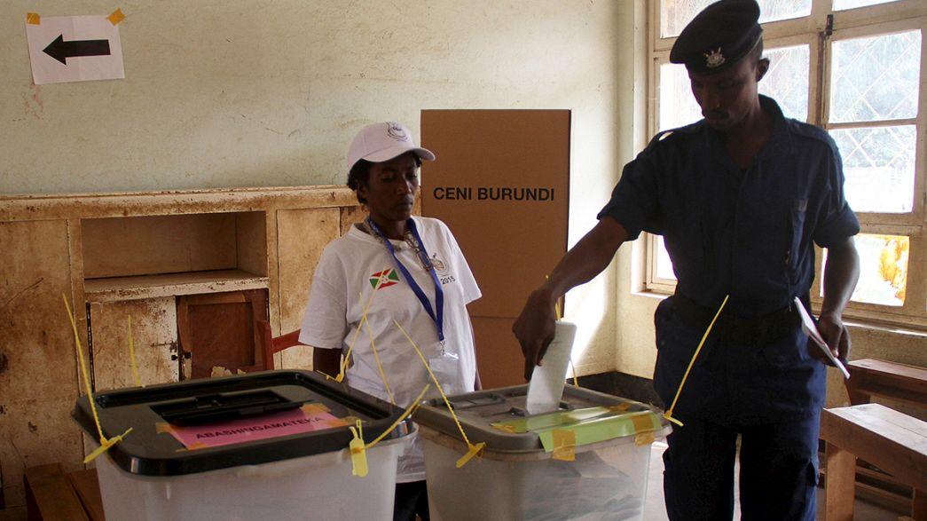 Burundi: Gerilimin ortasında devlet başkalığı seçimi