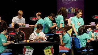 Nouveau champion du monde de Rubik's Cube 3x3