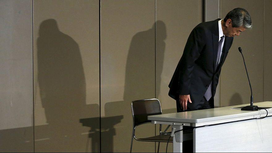 Toshiba'da muhasebe skandalı istifa getirdi
