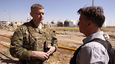Brig. Gen. Jonathan Braga speaks to NBC News\' Richard Engel.
