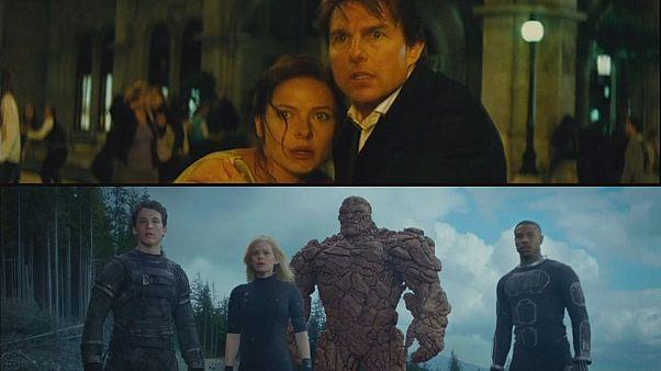 Dos películas de acción, en los cines este verano