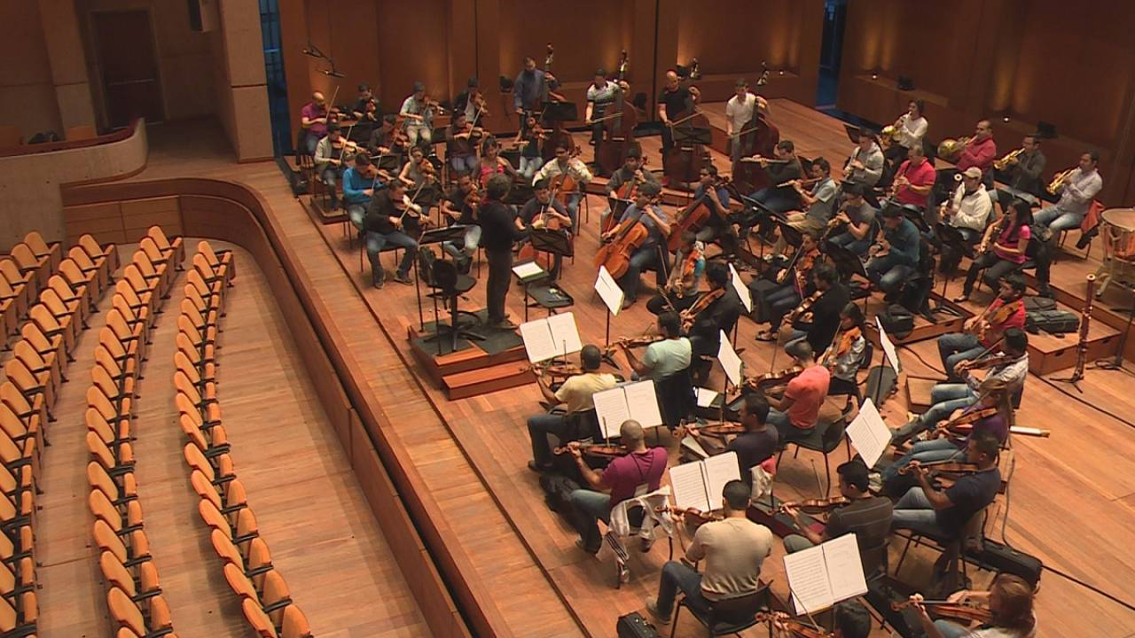 Rehearsing with the Simón Bolívar, an orchestra like no other
